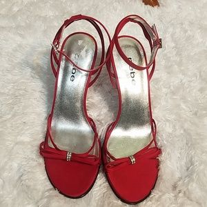 Bebe Red Sandal